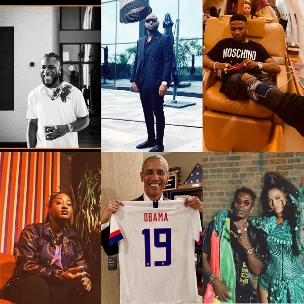 Wizkid, Davido, Burna Boy make Barack Obama's 2020 Summer Playlist
