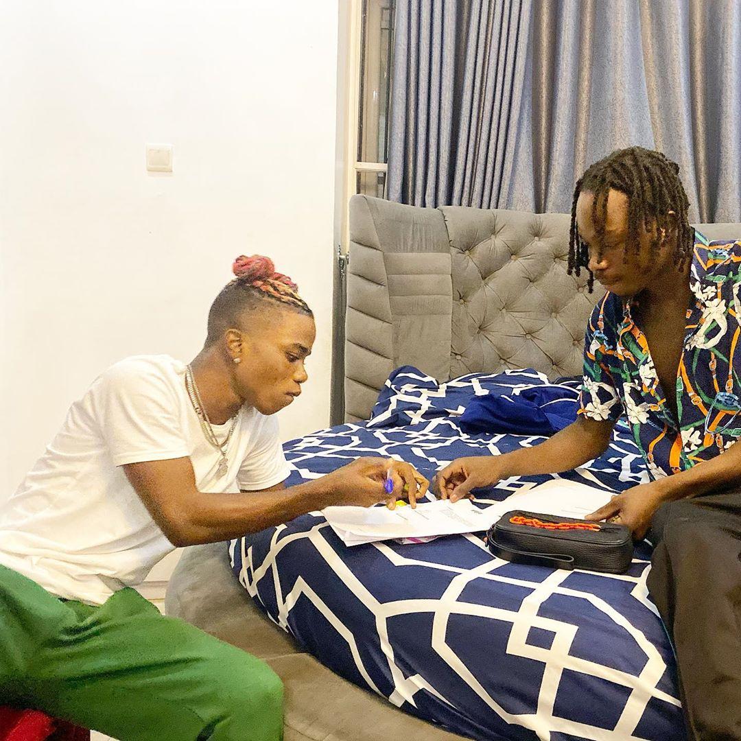 Naira Marley and Lyta