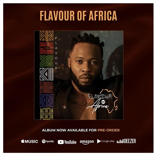 Flavour Flavour of Africa album Pre Order