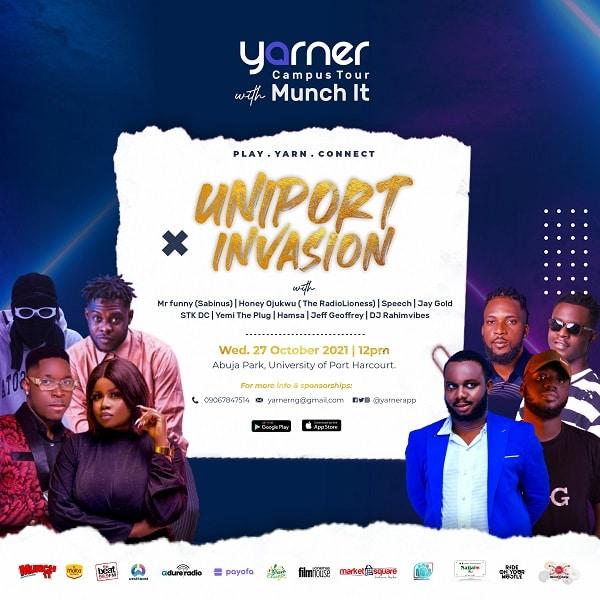 Yarner Uniport Tour